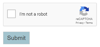 recaptcha viewed by an anonymous user