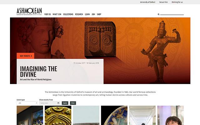 Ashmolean Mosaic website