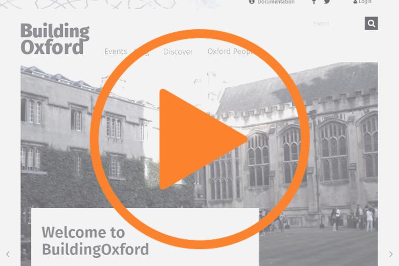 buildingoxford homepage