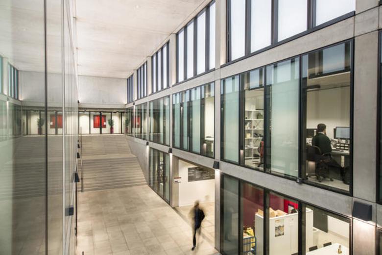 Interior view of the Economics Department