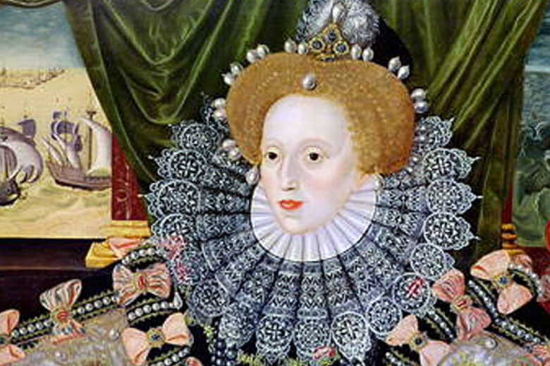 Painting of Elizabeth I