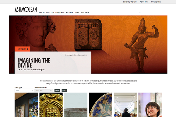 Ashmolean Mosaic website