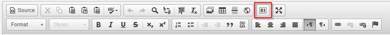 WYSIWYG Layouts button