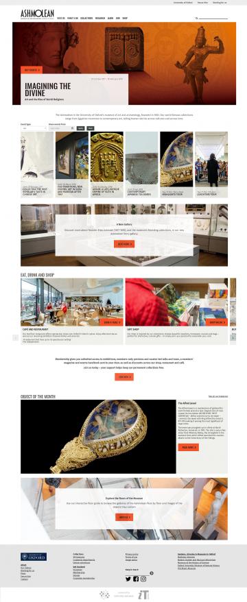 Ashmolean Museum homepage