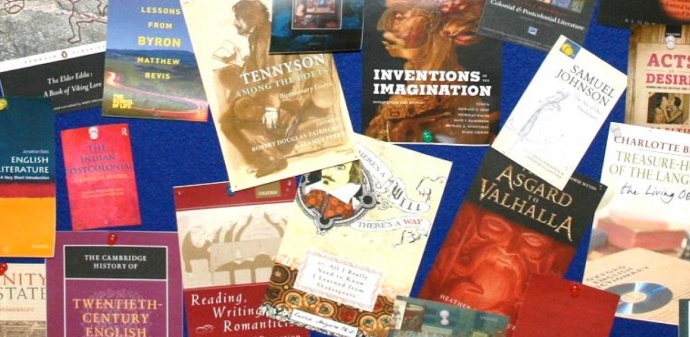 English faculty - recent publications